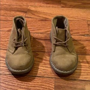 Toddler Boys Fabric Boots